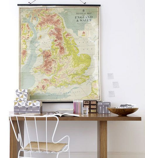 Lovely map. Simple space.