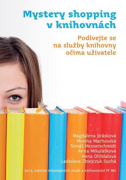 Přebal knihy Mystery shopping v knihovnách