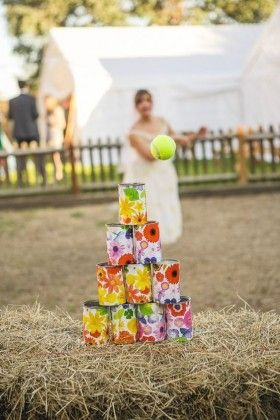 Outdoor Wedding Reception Lawn Game Ideas 17