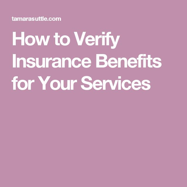How to Verify Insurance Benefits for Your Services