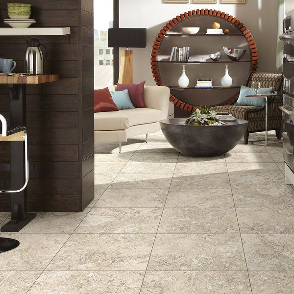 Armstrong Flooring Alterna Multistone 12 X 24 Engineered Stone Field Tile In Caramel Gold Wayfair Luxury Vinyl Tile Vinyl Tile Shaw Floors