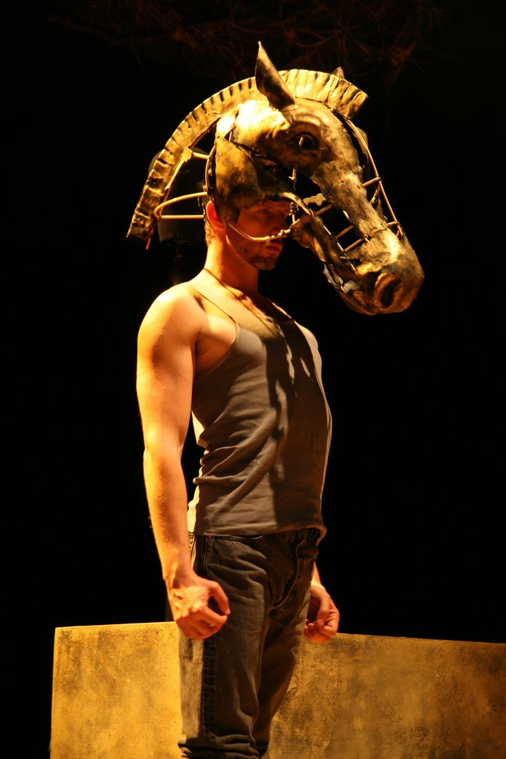 Kerry Bradley - Equus By Peter Shaffer  Animal Costumes -9675