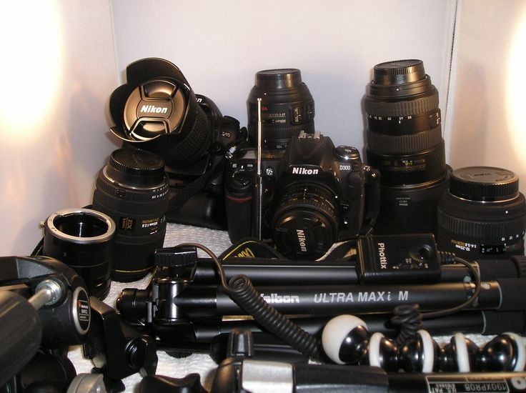 Nikon photo gear