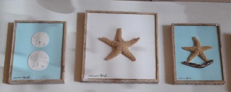 Coastal Wall Decor Pinterest : Starfish and seashell wall decor coastal