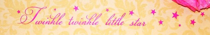 Twinkle, Twinkle Little Star Wall Decal  backdrop behind the Nursery Rhyme Dessert Buffet!