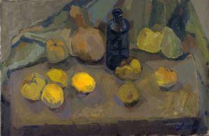 """""""Salad""""  60x 40 cm oil painting on canavas"""