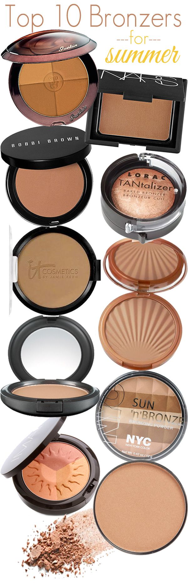 Just a few brushes of bronzer swept across your skin and your entire look can be changed your ent...
