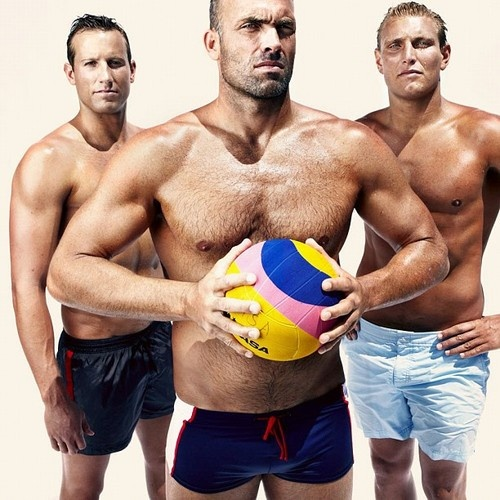 The U.S. Olympic Water Polo Team