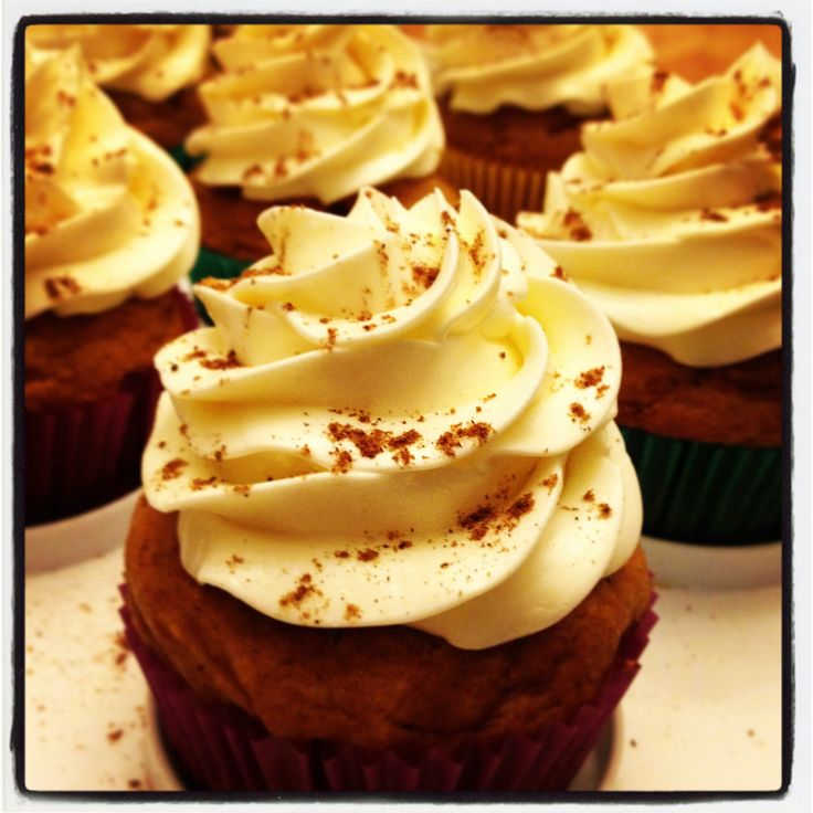 Pumpkin Jameson Whiskey cupcakes