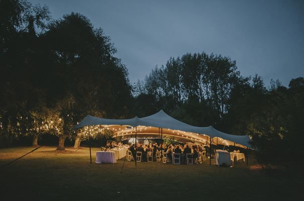 What a stunning setting. Brooke-Green wedding with One Lovely  Day styling and fit-out.