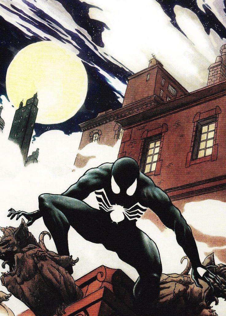 ✭ Black Spider-Man by Charles Vess