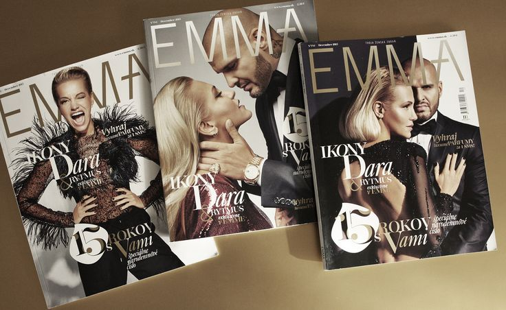 cover / etitions / magazine / fashion / beauty EMMA magazine redesign © Mikina Dimunova