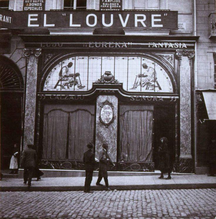 Zapatería Eureka, en la calle Montera, 1930. Autor desconocido.