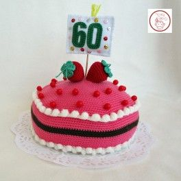 pastel de ganchillo para cumpleaos regalos originales para cumpleaos original