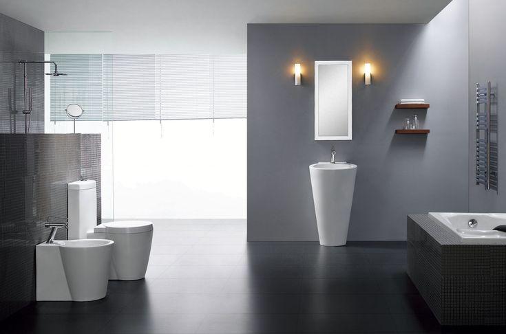 Classic Contemporary Pedestal Sinks   All Contemporary Design