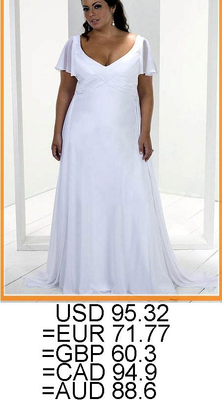 Plus Size Casual Wedding Dresses Discount Plus Size Wedding