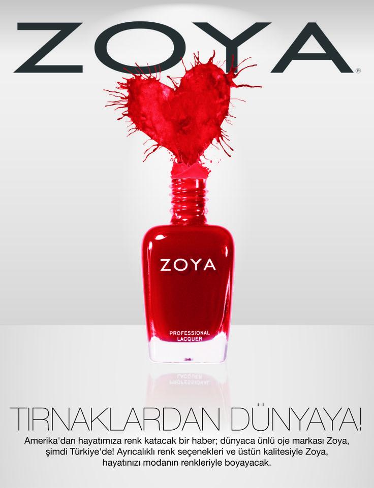 Kadının farklı yüzleri, farklı hisleri, farklı renkleri vardır. Bazen melek, bazen şeytan ama hep güzel... Kadının her halini çok iyi tanıyan dünyaca ünlü Zoya, şimdi Türkiye'de!