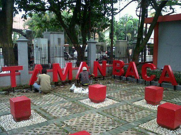 Taman baca taken at Bandung,West Java
