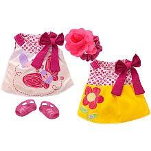 Baby Alive Reversible Outfit - Butterfly Beauty Dress by Hasbro. $21.70. Size: Medium. Fits MOST Baby Alive Dolls EXCEPT My Baby Alive, My Real Baby and Real Surprises. Size: Medium
