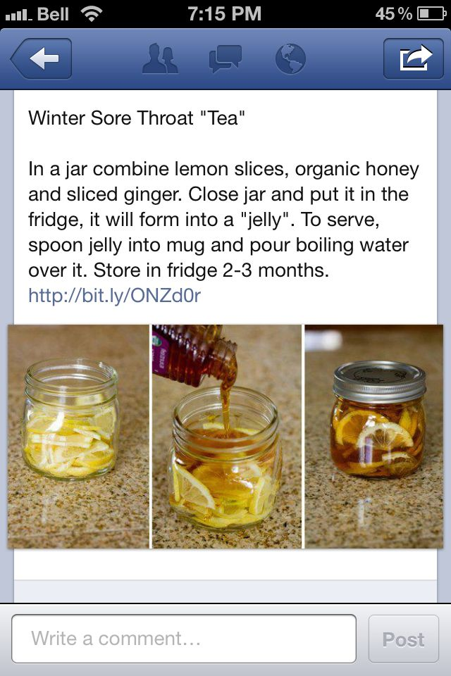 Winter Cold Remedy - I'm making this for Jon tomorrow...