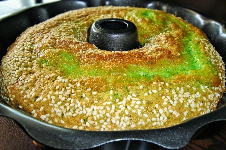 The Spices Of Life . . .: Bánh Bò Nướng (Honey Comb Cake)