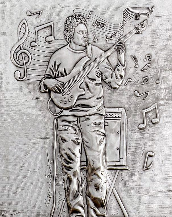 ArteyMetal: Retrato de Aurelio