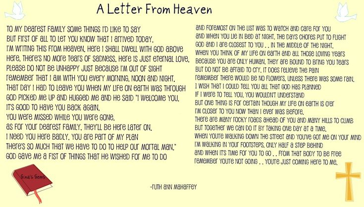 Letter From Heaven Images