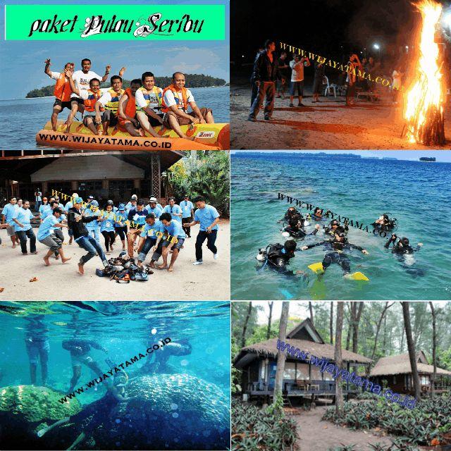 Pulau seribu adalah kepulauan seribu yang memiliki pulau-pulau resort dan penduduk, pulau seribu terdiri dari beberapa pulau yang sering di kunjungi oleh wisatawan asing maupun lokal, pulau seribu mempunyai fasilitas water sport dan juga dapat snorkling...
