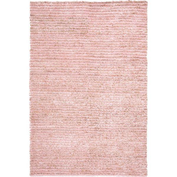 Safavieh Hand Woven Metro Pink Shag Rug (8u0027 X 10u0027)