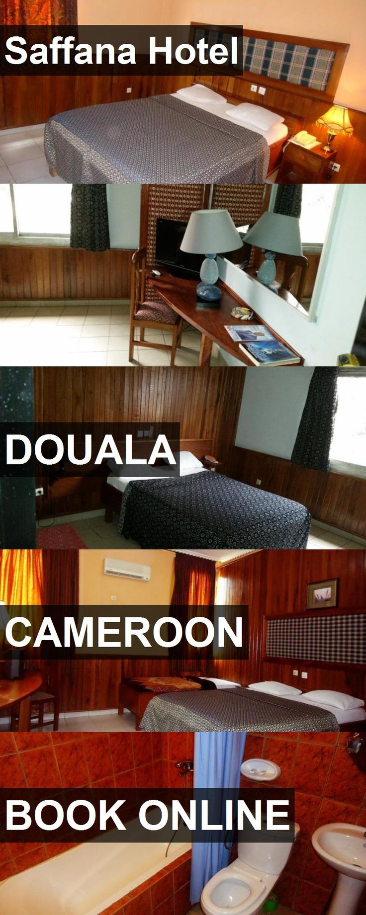 Saffana Hotel in Douala, Cameroon. For more information, photos, reviews and best prices please follow the link. #Cameroon #Douala #travel #vacation #hotel