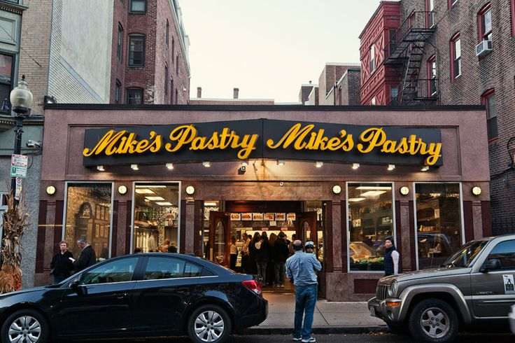... sending postcards: mike's pastry
