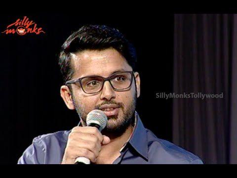 Nithin Funny Speech Akhil Grand Launch
