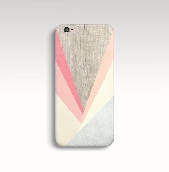 iPhone 6 Case Geometric iPhone 5C Case Wood Print by FabStory. Those colors tho I mean c'mon