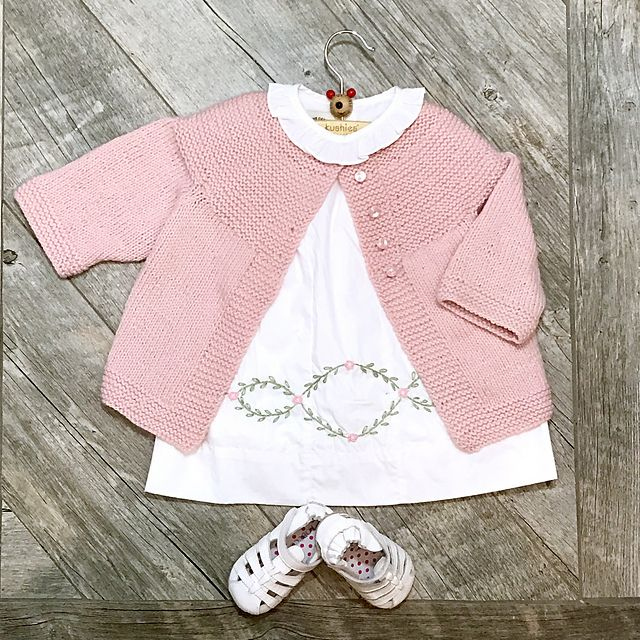 Ravelry: Cinmac62's Pink Jacket for Ava
