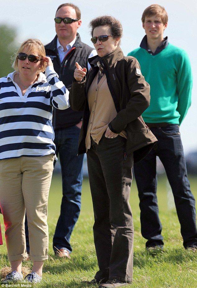 Princess Anne cheered her daughter Zara on at UK Mitsubishi Motors Badminton Horse Trials