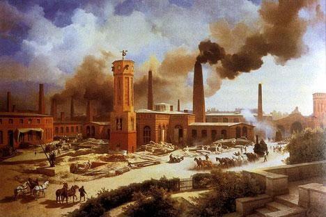 Rond 1750 begon de Industriële Revolutie in Engeland. De rest van Europa volgde in de verdere 19de eeuw. De Industriële Revolutie  is ontstaan doordat er machines ontstonden en verbeterd werden. Er kwamen als gevolg hiervan steeds meer fabrieken, waardoor goederen sneller gemaakt konden worden.