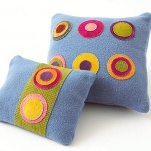 Almohadas de fieltro