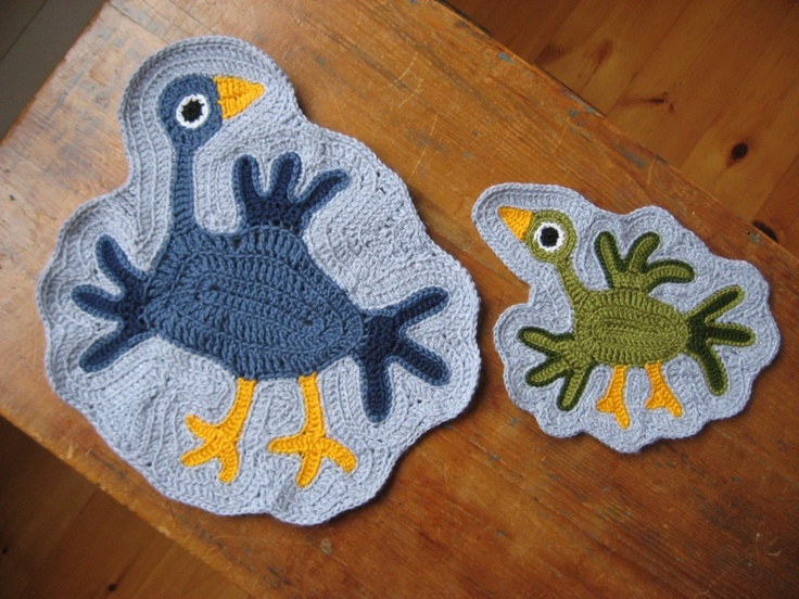 Birds crochet - juste sublimes !