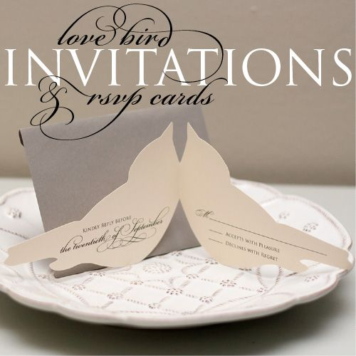 35 best bird themed wedding images on pinterest cake wedding bird invitations pretty in white events i wedding planning junglespirit Gallery