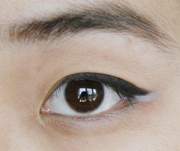 White kajal for eyes