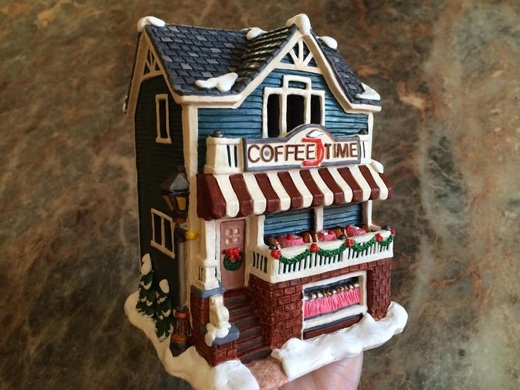 9 best Handpainted christmas village images on Pinterest ...