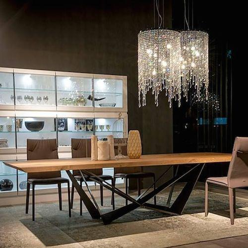 Cattelan Italia Skorpio Wood Table