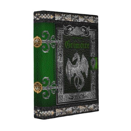 The Grand Grimoire Witches Book Of Shadows Mini Binder - home gifts ideas decor special unique custom individual customized individualized