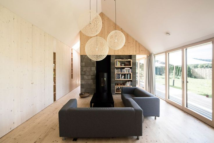 Interior Is Anything But Rustic in This Barn-Like Home in Slovakia - http://freshome.com/barn-like-home-in-slovakia/