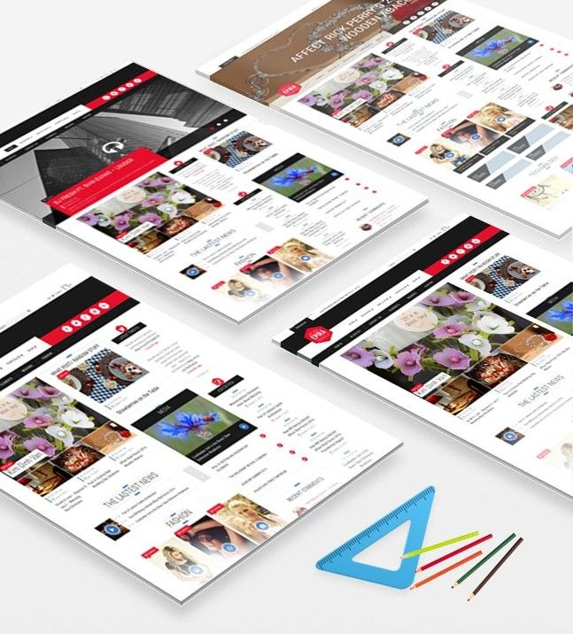 epira wordpress home layout