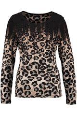 Gerry Weber - shirt met panterprint en pailletjes #panterprint #luipaardprint #leopardprint #fall16 #winter17 #fashion #trends