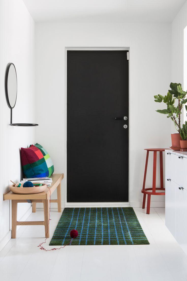 Doormat designed by Kristine Five Melvær for  Heymat