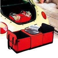 Wish | Fashion Auto Care Car Trunk Storage Bag Oxford Cloth Folding Truck Storage Box Car Trunk Tidy Bag Organizer Storage Box