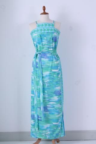 Vintage tøj - Strandkjole 1970. M-L - Vintage kjoler 1970'erne - Vintage Divine - 1