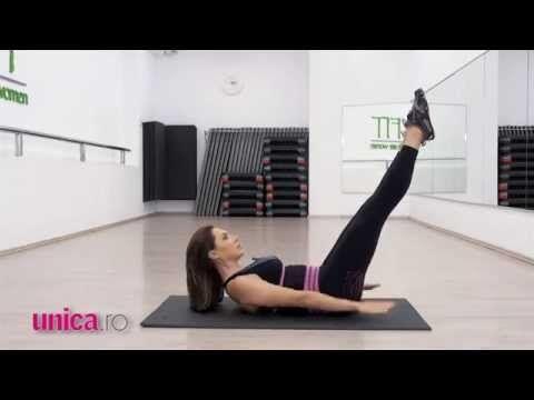 Exerciții pentru abdomen - Cori Grămescu - Traiesti Natural